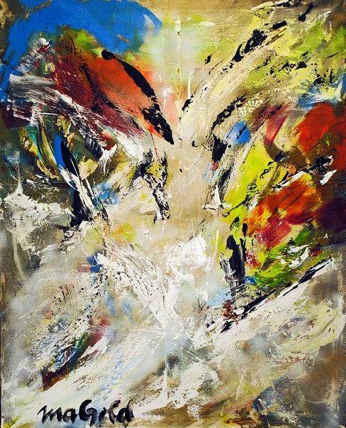 the abstract expressionist Selbstwert selfesteem by