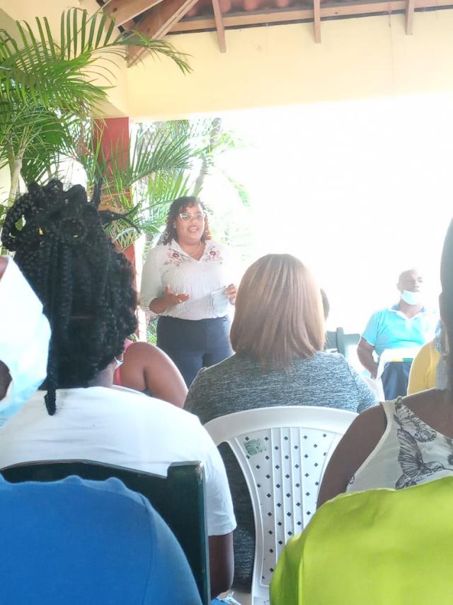 Dirigente Feminista de la Provincia de Barahona, asume la secretaría general del Frente Amplio.