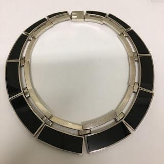 Sterling Silver & Enamel Necklace