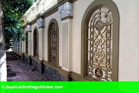 Hình 5: Dãy biệt thự xa xỉ của 3 anh em ruột đại gia Thái Bình
