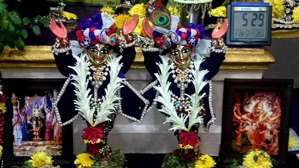 ISKCON Bhusawal Deity Darshan 22 Jan 2016 (8)