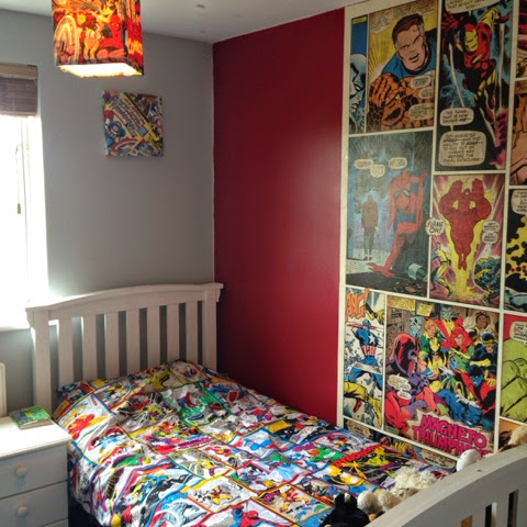 SnafflesMummy: A Comic Book Bedroom Makeover