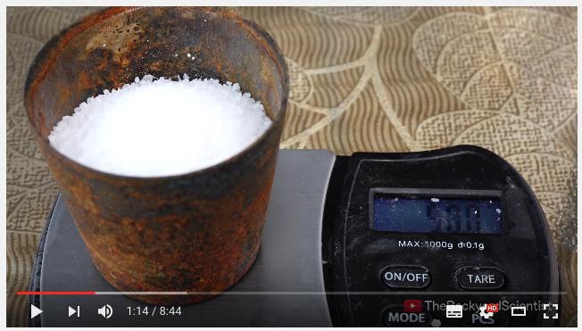 塩の量は500g