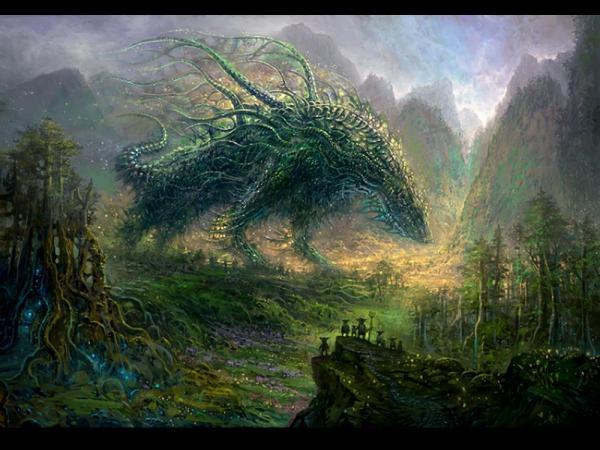 Weird Place Of Nightmare, Magick Lands 1