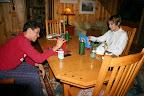 Jake and Rashad playing old school Battleship December 13.
