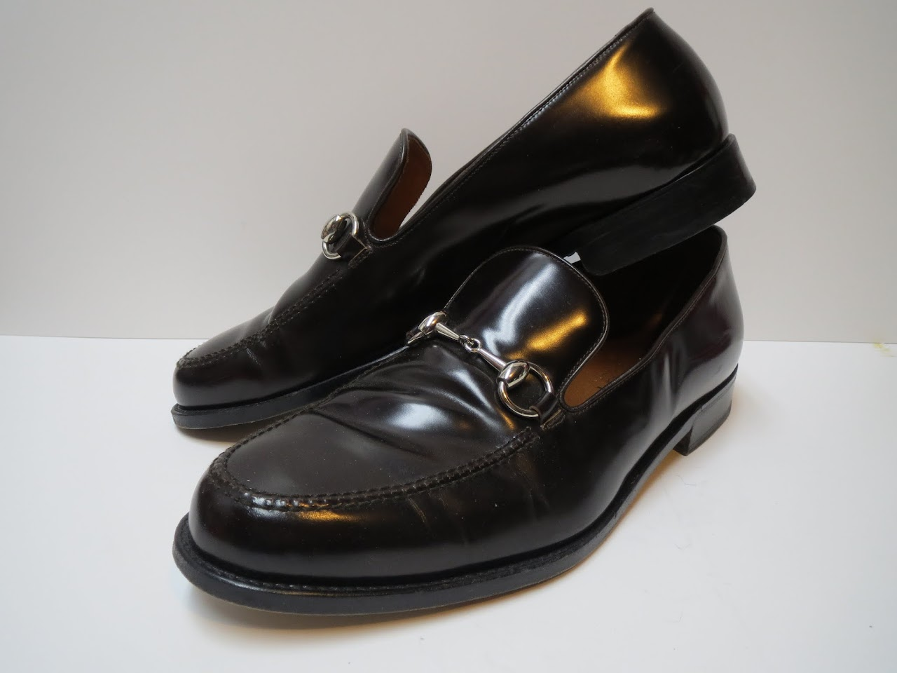 Gucci Dark Brown Loafers