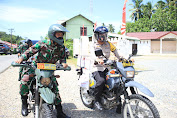 Meriahkan HUT RI ke- 75, TNI - Polri Bersinergi Lakukan Bhakti Sosial