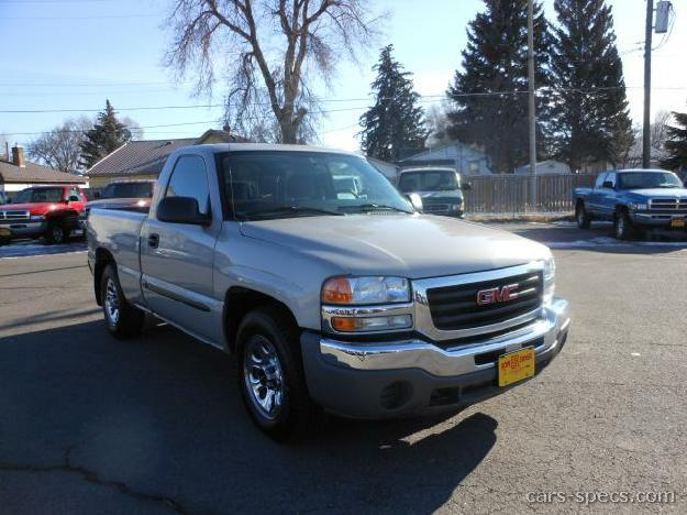 2005 gmc sierra 1500 regular cab specifications pictures prices. Black Bedroom Furniture Sets. Home Design Ideas