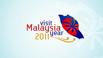 Visit Malaysia Year 2011 logo mockup