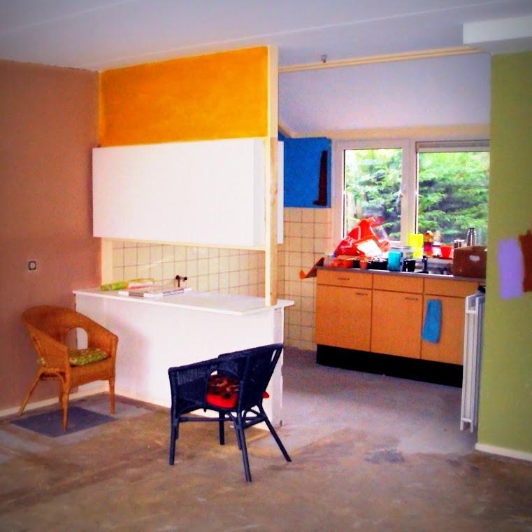 Keuken bij aanvang
