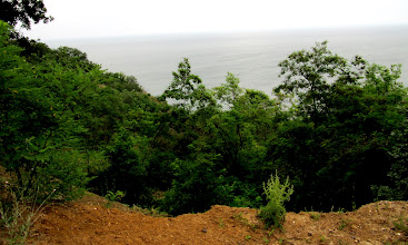 Photo: Day 94 - On the Off-Road Section With a View of the Black Sea