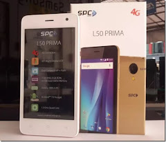 SPC L50 Prima, Smartphone Android Nougat 4G Berlayar 4,5 Inci
