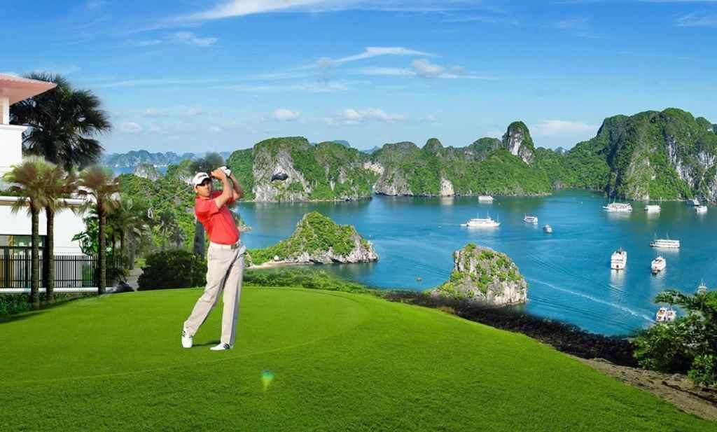 Tour du lịch golf là 1 loại hình kết hợp thú vị