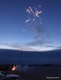 Pre-show fireworks