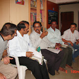 Demonstration of Amateur Radio Satellite communication to Mr Annadurai and Mr Raghavamurthy - DSC00156.JPG