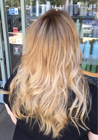 Sombre Blonde Waves