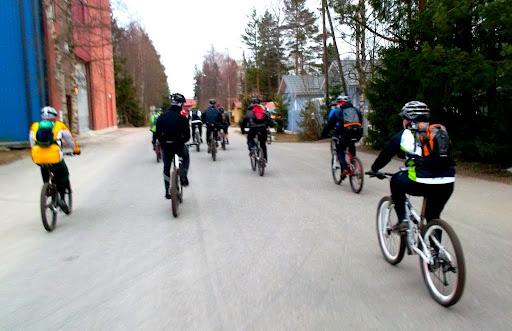 MTB-Turun porukkalenkki 12.4.2012.