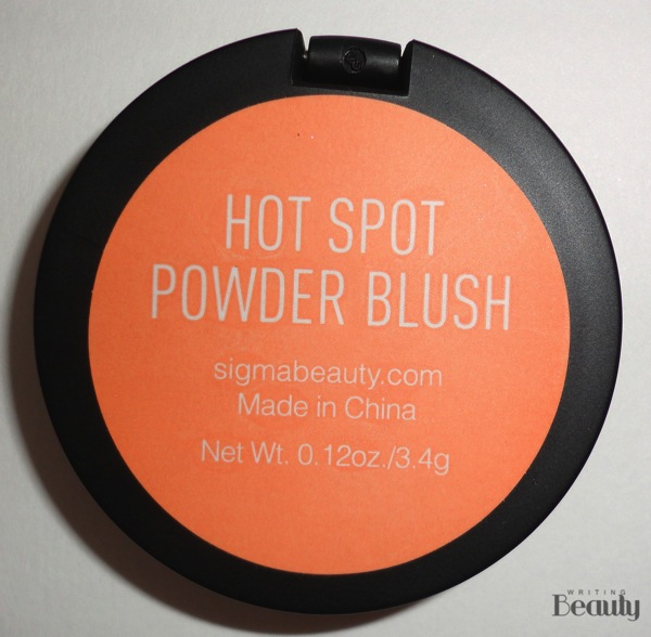 Sigma Beauty Camila Coelho Nightlife Powder Blush in Hot Spot Review 4