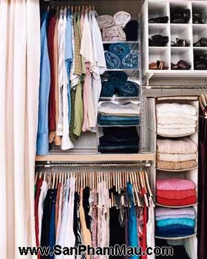 17 mẹo nhỏ cho tủ quần áo ngăn nắp-6