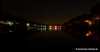 Photo: Unser Neckar ... geruhsame Fahrt nach dem Tagestrubel.