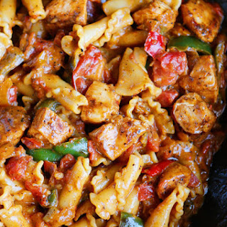 Chicken Fajita Pasta.