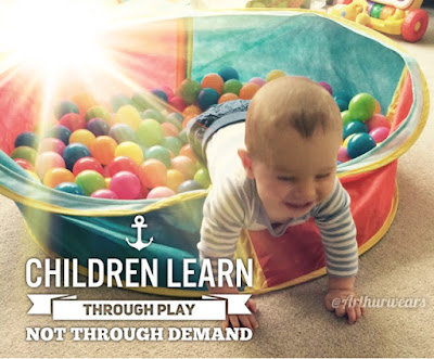 learn through play quote