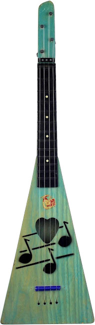 Swagerty Surf-a-lele Acoustic Tenor ukulele 1963