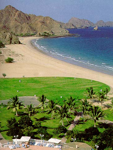 Oman - coastline near Muscat