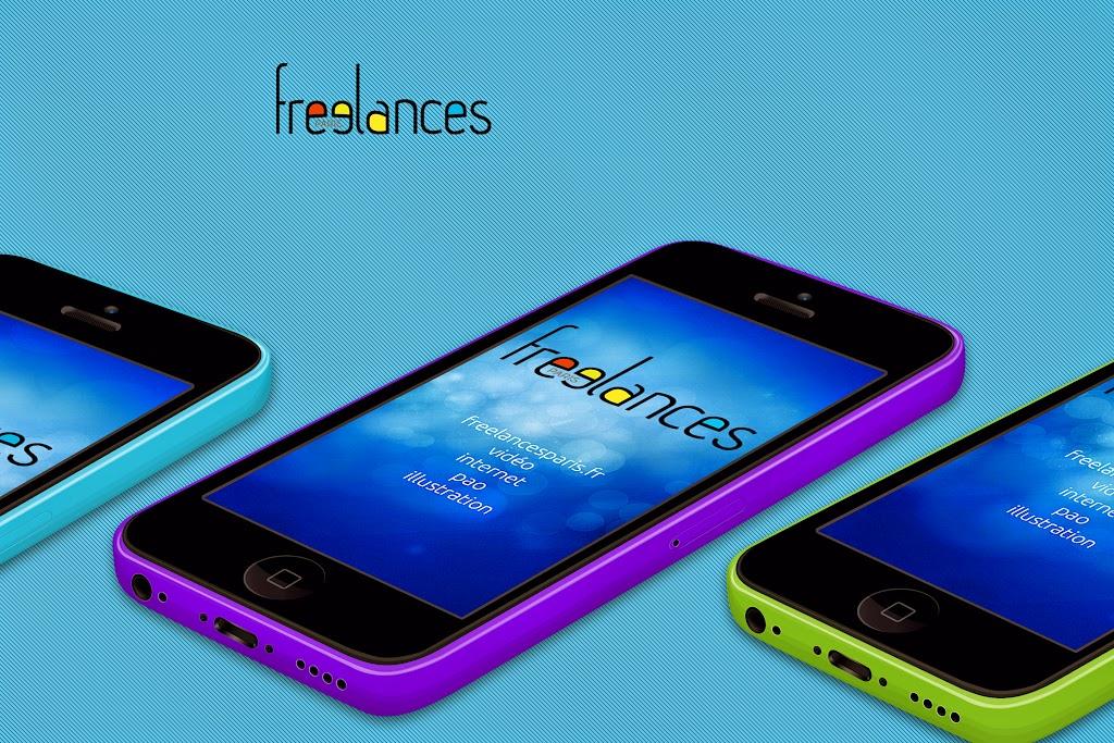 capture écran pour tablettes smartphones sublimer présentation responsive web design conception site web adaptatif iPhone 5c