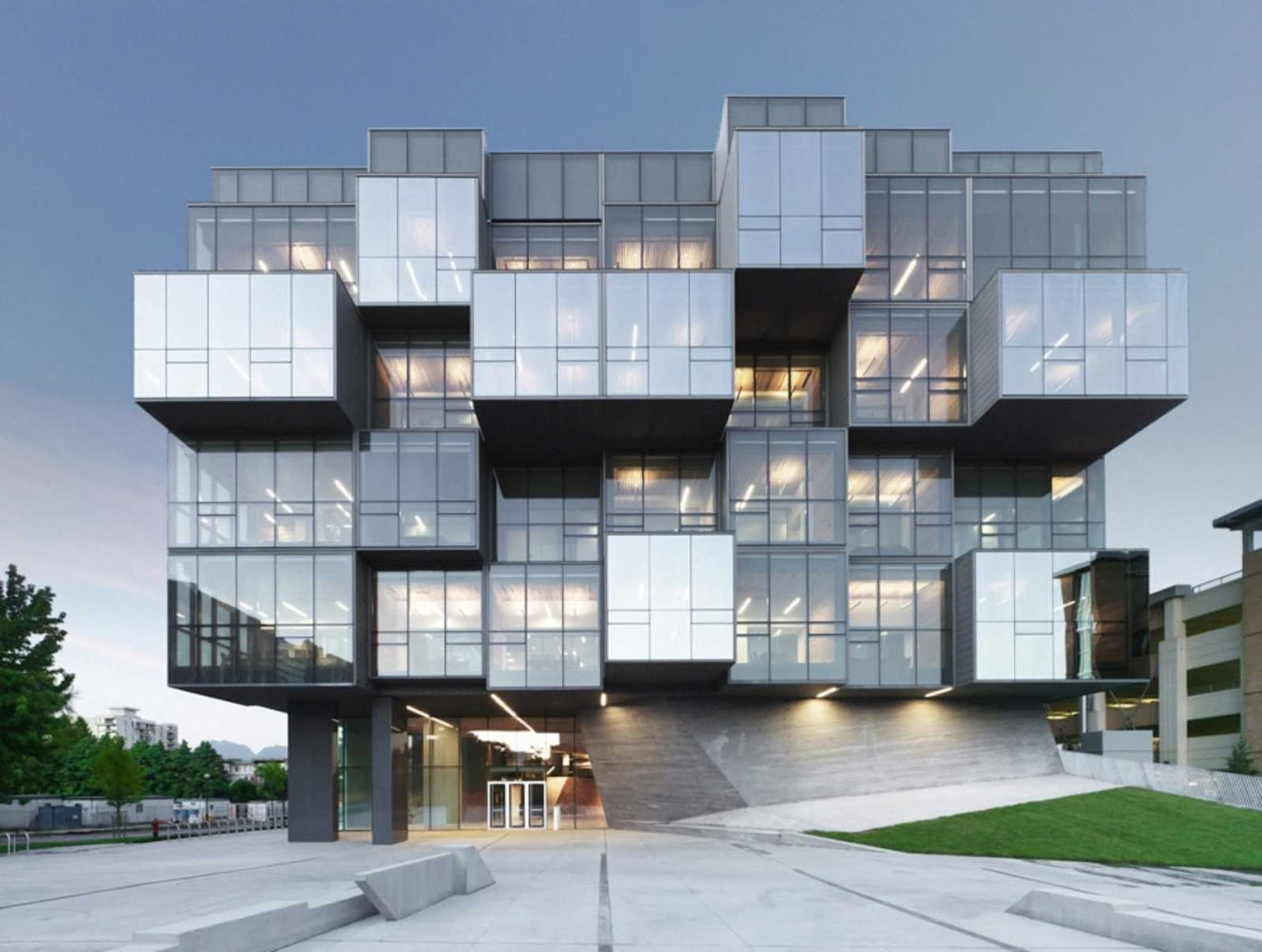 Vancouver, Columbia Britannica, Canada: Ubc Faculty of Pharmaceutical Sciences by Saucier + Perrotte Architectes & Hcma