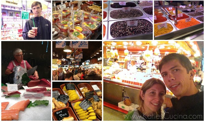 Las Ramblas Market, Barcelona Spain