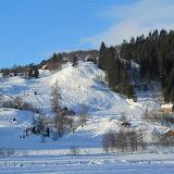 Fine snøformasjonar, mot Torefjell. Januar 2011