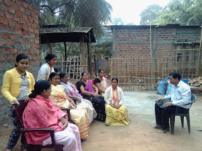 Follow up at Dihina village, Kamrup