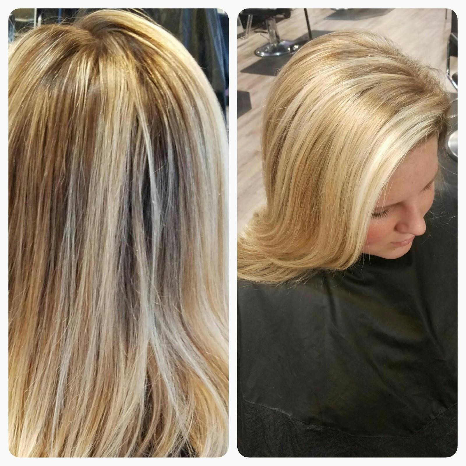 Color Melting With Foils Balayage Hair Stylist And Mua Stephani
