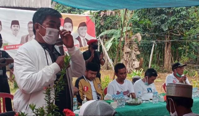 Tuah Tanah Kelahiran, Burhanuddin Yakin Syafruddin Menang 100 Persen di Desa Pulau Burung