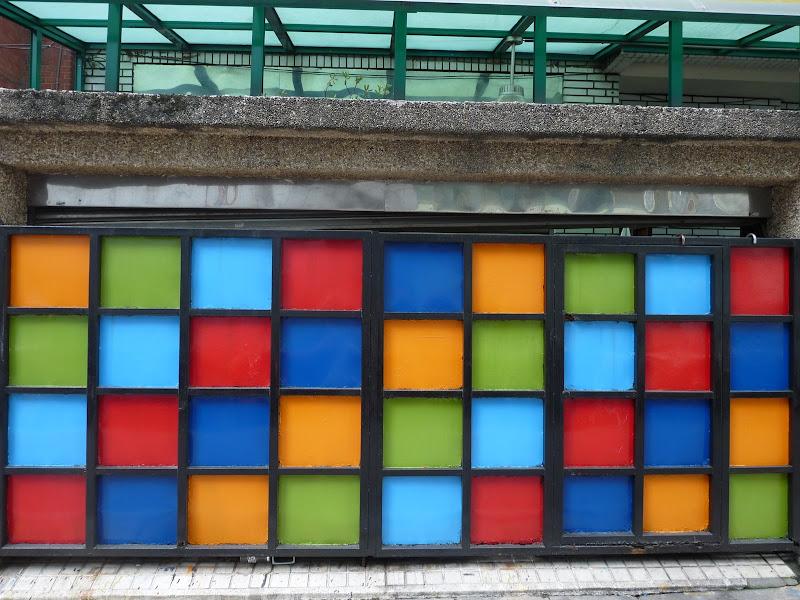 Taipei. porte de garage