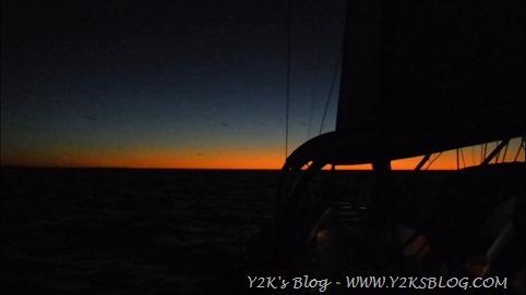 Minerva Reef - Whangarei - Uno degli ultimi tramonti ai tropici.