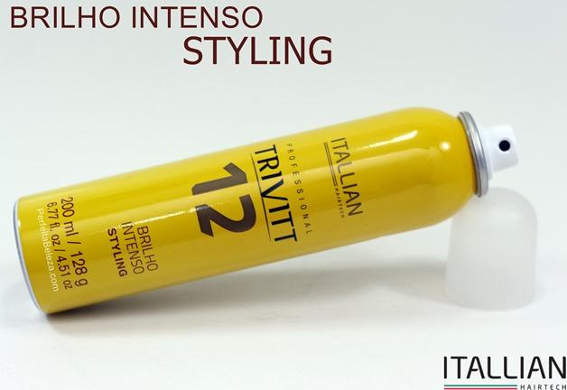 Melhor spray de brilho, itallian hairtech, trivitt