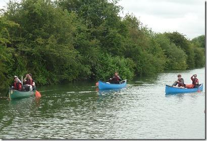 5 DOE canoe expedition