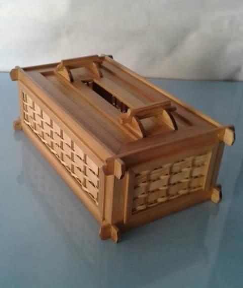 Kerajinan Bambu Kayu: Harga Terbaru Jual Murah Kotak Tisu