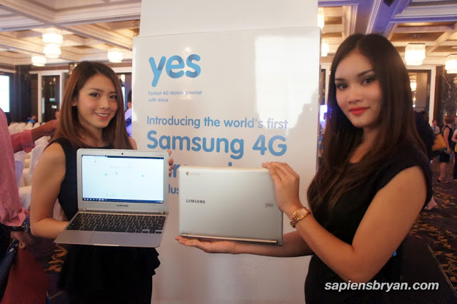 Yes4G Chromebook Launch