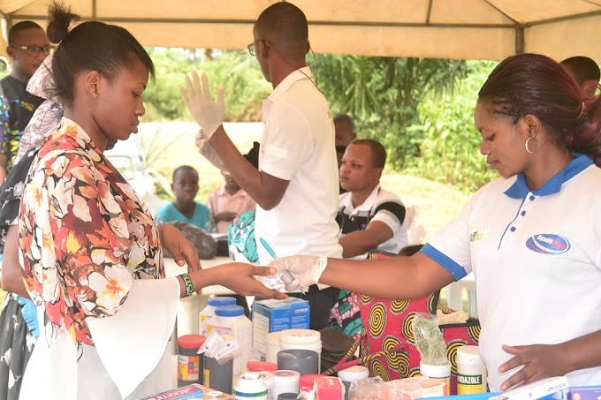 Akpabuyo residents of Cross River State benefit from Ayadecare Health Outreach.