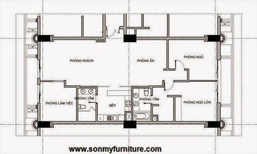 Bài trí đơn giản mà ấn tượng trong căn hộ 140m2-13