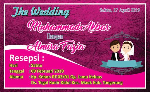 undangan pernikahan,Undangan kecil