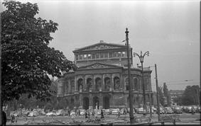 Alte Oper (ruinas) 1958