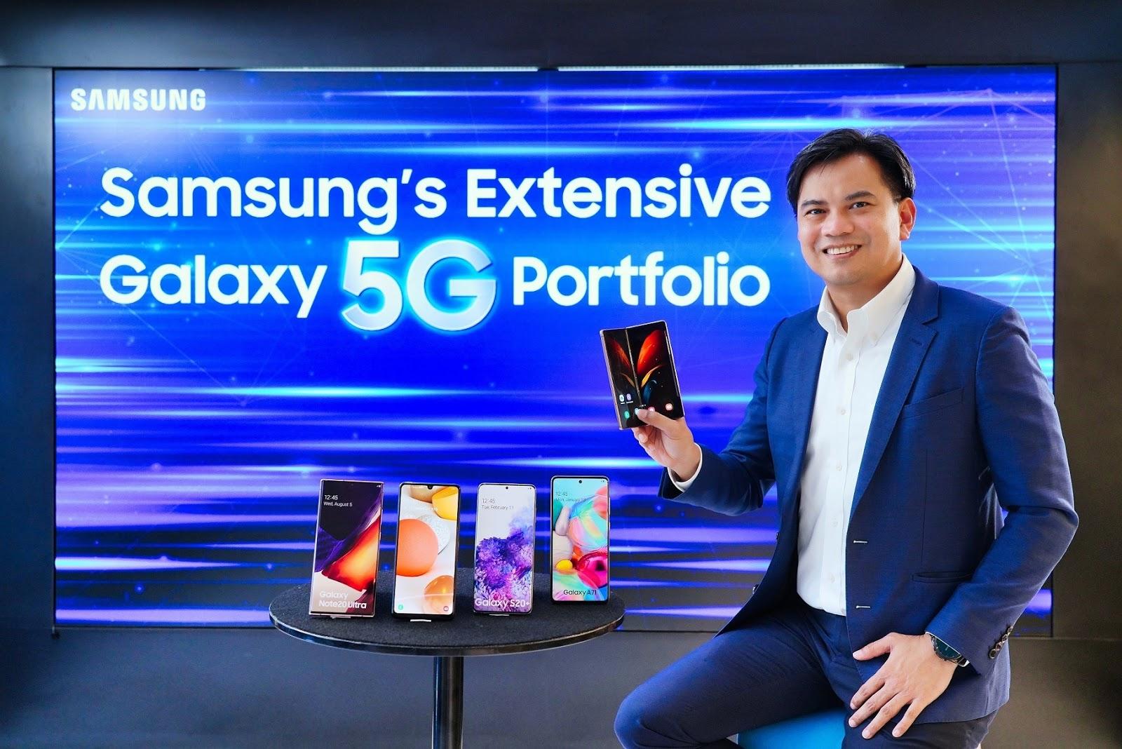 เผยวิสัยทัศน์แม่ทัพใหญ่ Samsung กับการเป็นผู้นำสมาร์ทโฟน 5G ปี 2020 แบรนด์เดียวที่ตอบโจทย์ครบทุกความต้องการของคนไทย