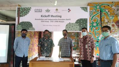 DSN Group Danai Konservasi Hutan Berbasis Masyarakat di Desa Laman Satong untuk 10 Tahun