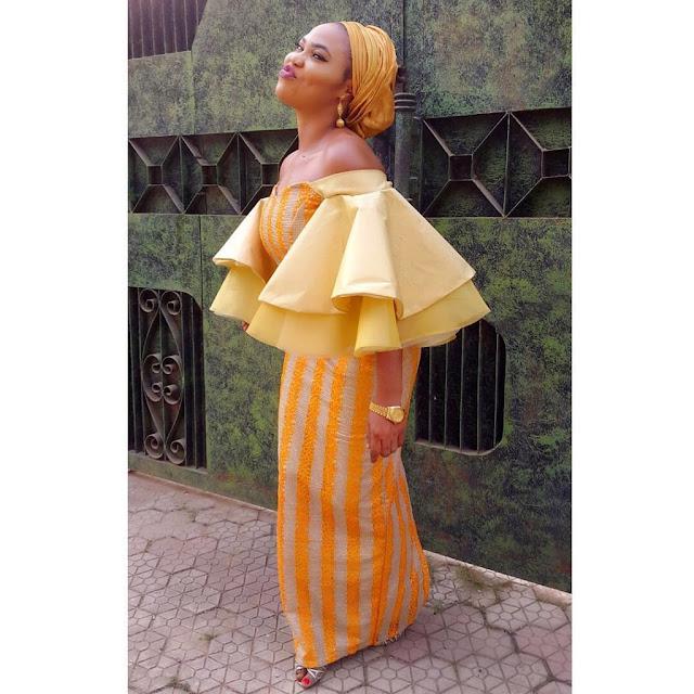Long elegant ankara dresses