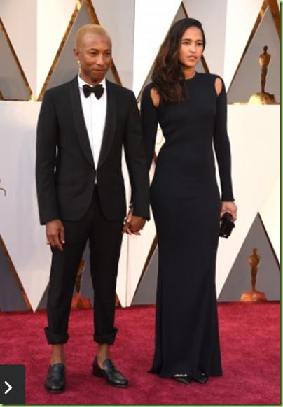 Pharrell Williams and Helen Lasichanh (