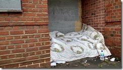 Homelessness bedding s